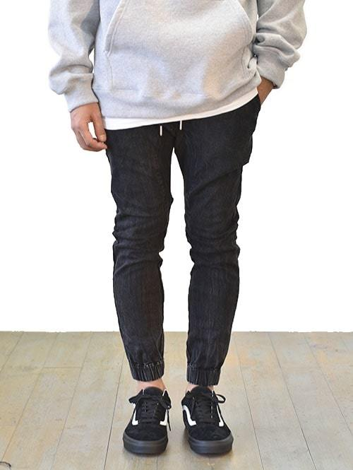ZANEROBE Sureshot Denim jogger  Salt Black  ジャパンモデル