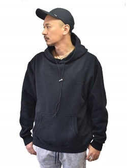 ZANEROBE Lowgo Hood Sweat Black