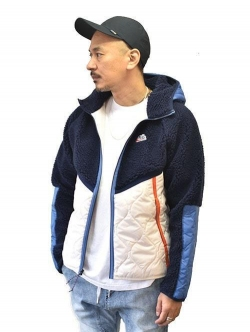 NIKE HERITAGE INSULATED JACKET NAVY