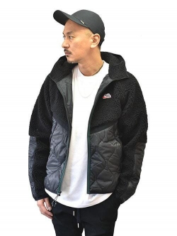 NIKE HERITAGE INSULATED JACKET BLACK