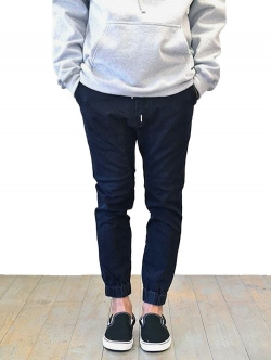 ZANEROBE SURESHOT JOGGER  Black Denim Wash