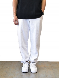 Upcycle  Organic Fleece Pant White