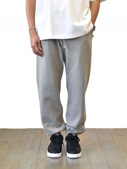 Upcycle  Organic Fleece Pant Grey